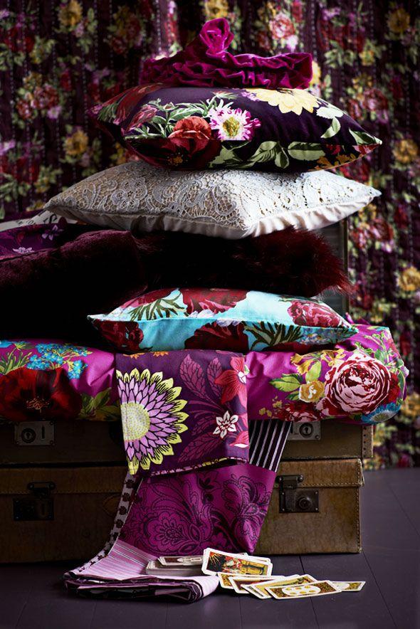 les images de la campagne h m home automne 2012 d voilent. Black Bedroom Furniture Sets. Home Design Ideas