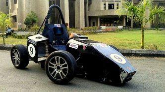 QuassR-in12. Second Formula Student Car.