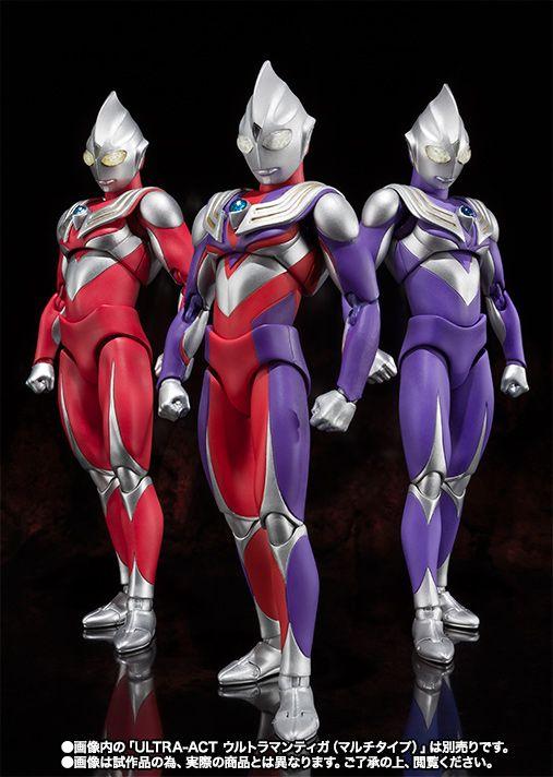 Ultraman Tiga Sky Type & Power Type - June 2015