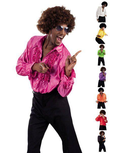 https://11ter11ter.de/23355526.html 70s Disco Boy Rüschenhemd #11ter11ter #karneval #fasching #kostüm #outfit #fashion #style #party #70s #70er #disco