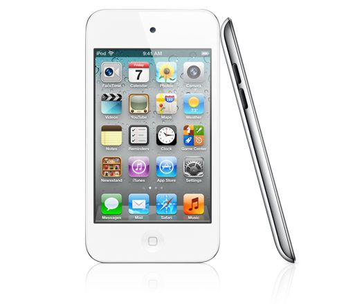 iPod Touch 4th Generation - White. As low as $129, refurbished on Apple.com.