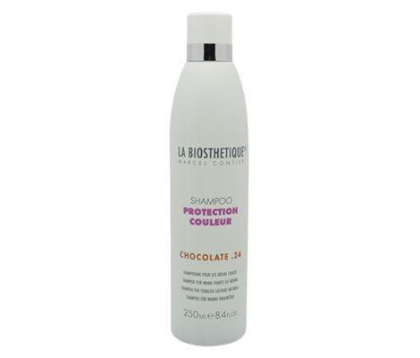 La Biosthetique Shampoo Protection Couleur Chocolat 24 voor warme bruintinten | De Gezonde Bron, dé webshop voor natuurlijke verbetering van uw gezondheid.