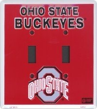 Amazon.com: Ohio State Buckeyes Double Light Switch Plate: Sports & Outdoors