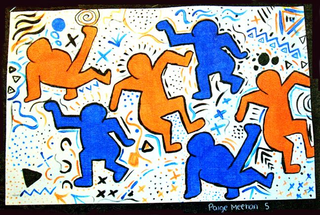 Keith Haring Painting Project | HaringKids Lesson Plans