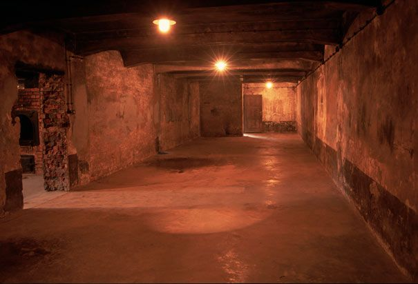 This Gas Chamber Was The Largest Room In Crematorium I At