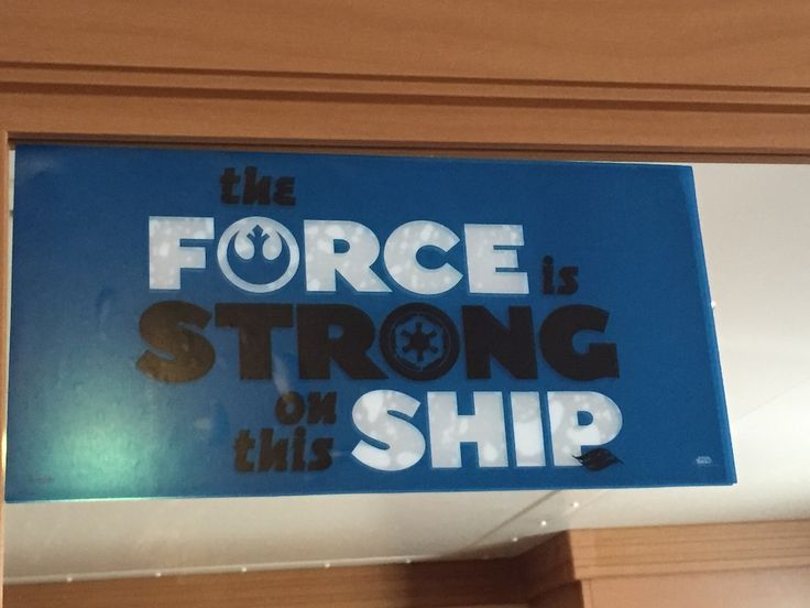 Disney Cruise Review: Star Wars Day at Sea, Part 1
