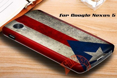 Grunge Puerto Rico Flag Google Nexus 5 Case Cover | galuh303 - Accessories on ArtFire