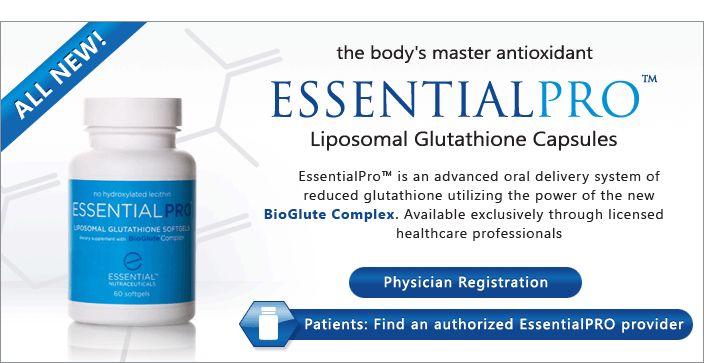 Essential GSH® – Liposomal Glutathione Capsules and Liquid
