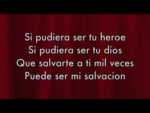 Letra de Héroe de Enrique Iglesias