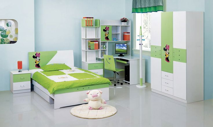 Cameretta per bambini dal design moderno n. 03