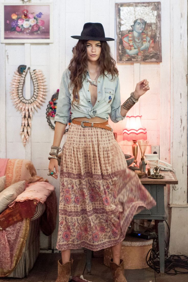 Desert Rose Maxi Skirt - Blush • Spell & the Gypsy Collective