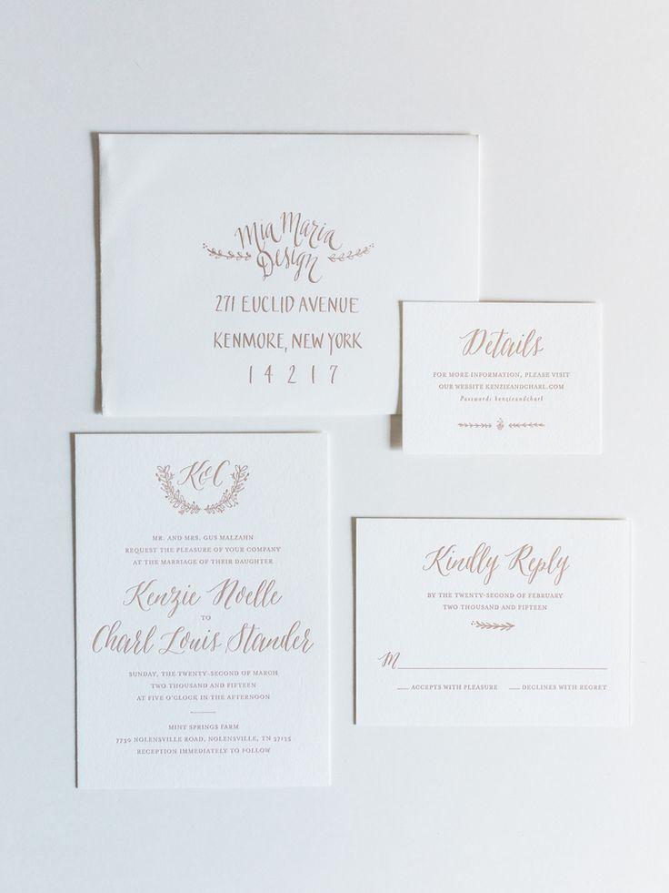 wedding invitations atlanta%0A Floral Wedding Invitations   Wedding Stationery Trends   Mia Maria Design    Elle Golden Photography