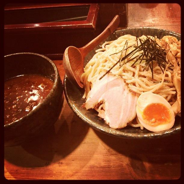 田ぶし、特製つけ麺。