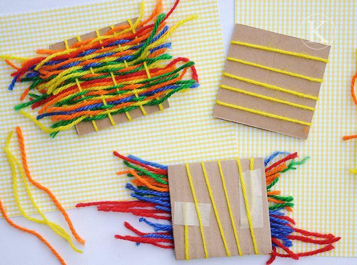 Yarn Weaving: Little Loom