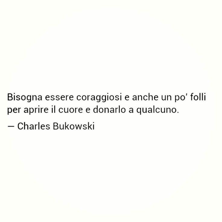 #Follia #frasi #iosonoancoraqua #quoteoftheday #frasedelgiorno #dayoff #ilbellodisaperamare #coraggio #charlesbukowski #buonanotte #così #likeback #bestoftheday by grazialaura.massaro Get much more Bukowski at www.BukowskiGivesMeLife.com