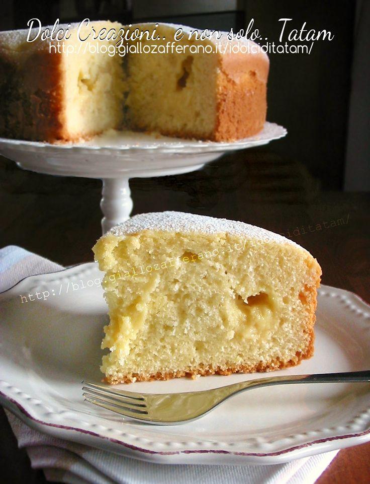 torta nua alla crema di limone