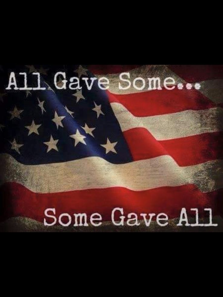 Thanks to all Veterans and Active Duty Military Personnel!