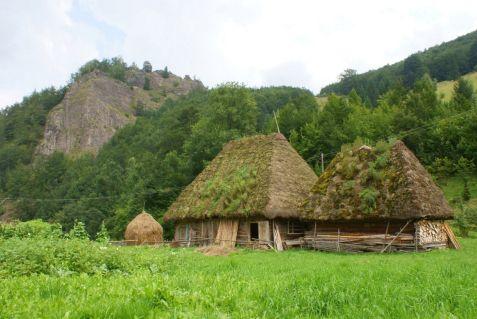 Carpathian mountains Romania Trascaului mountains