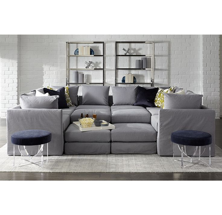 1000+ Ideas About Sectional Slipcover On Pinterest