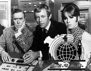 The Girl from Uncle - Leo G. Carroll, Noel Harrison and Stephaine Powers. It only lasted one season, but I still enjoyed it back then.