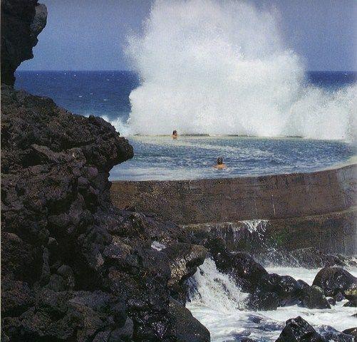 Piscina Natural en el Océano Atlántico, El Guincho - Fernando Menis