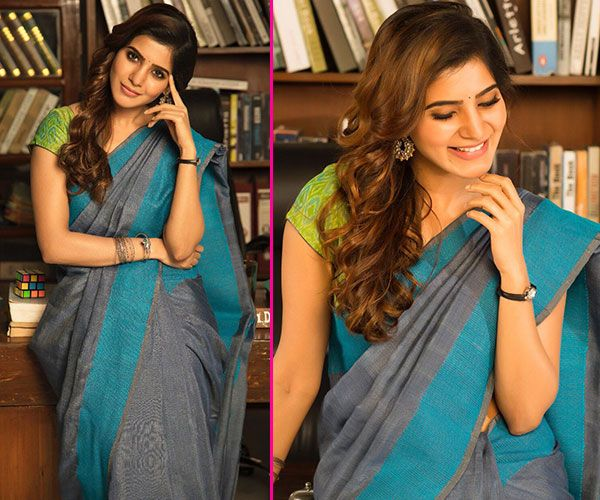 Samantha Ruth Prabhu's look for Irumbu Thirai is what you call traditional done right #FansnStars