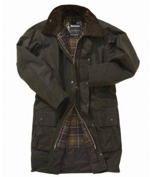 Barbour Mens Classic Northumbria Waxed Jacket On Sale