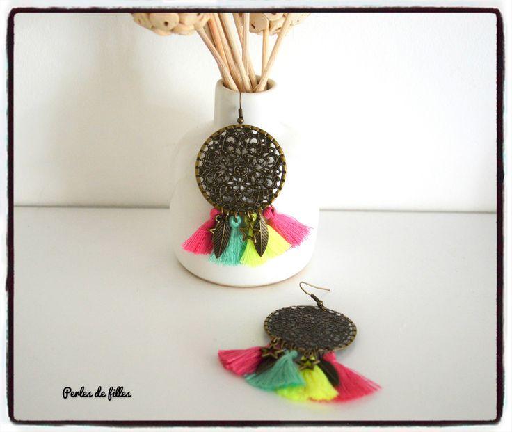 Boucle d'oreille perle de culture - Femme - Boucle MATY