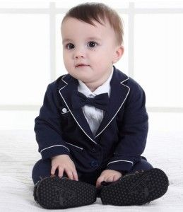 baby suit 12N239 body suit and blazer