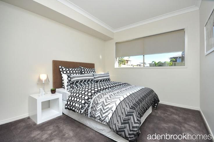 Bedroom with retro feel.