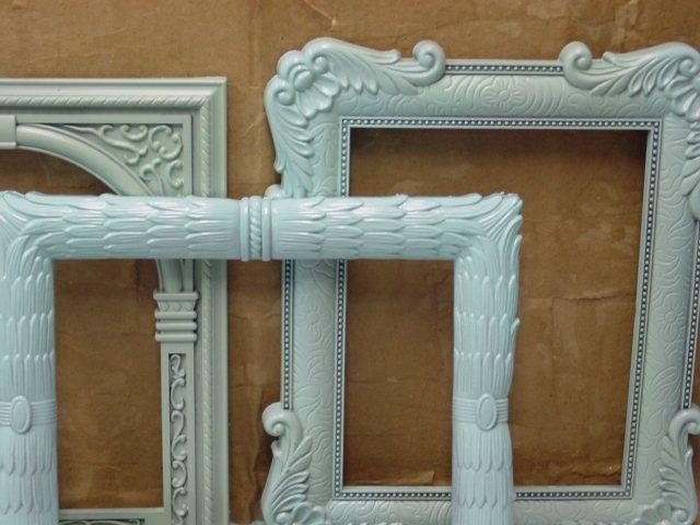 dollar tree frames redone - Dollar Frames