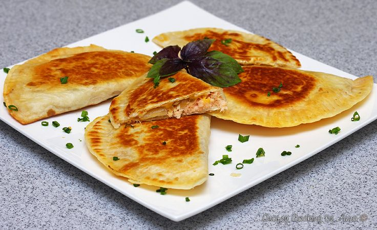 Easy and Extremely Versatile Chebureki (Stuffed Tortillas Pockets) for Lunch or Anytime!