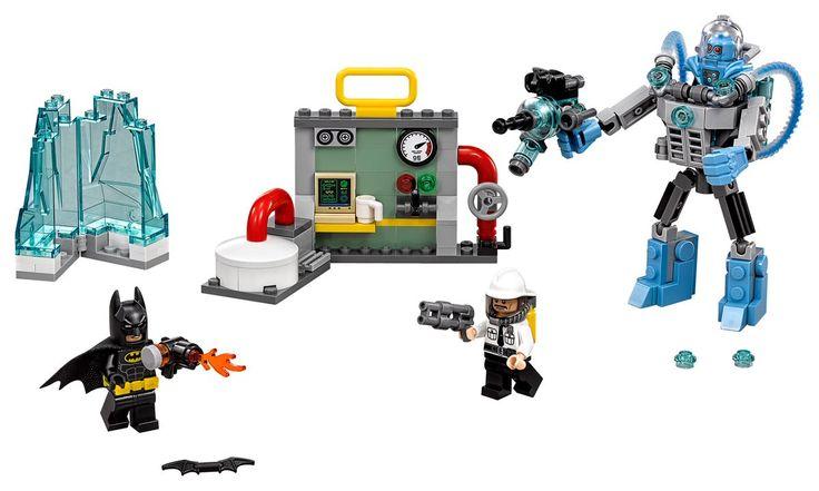 Batman Movie sets revealed ahead of NYCC | Brickset: LEGO set guide and database - Mr Freeze Ice Attack
