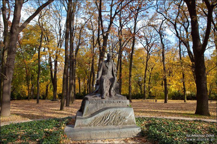pomnik Henryka Sienkiewicza w Warszawie
