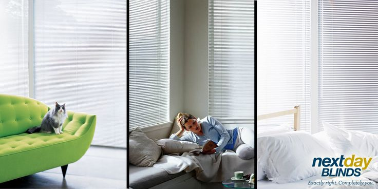 These aluminum blinds are crafted with uncompromised quality.   #WindowTreatmentWednesday