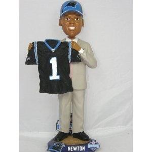 Carolina Panthers Cam Newton Draft Day Bobblehead
