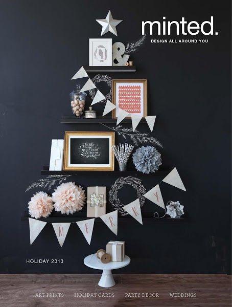 minted catalog design - cover