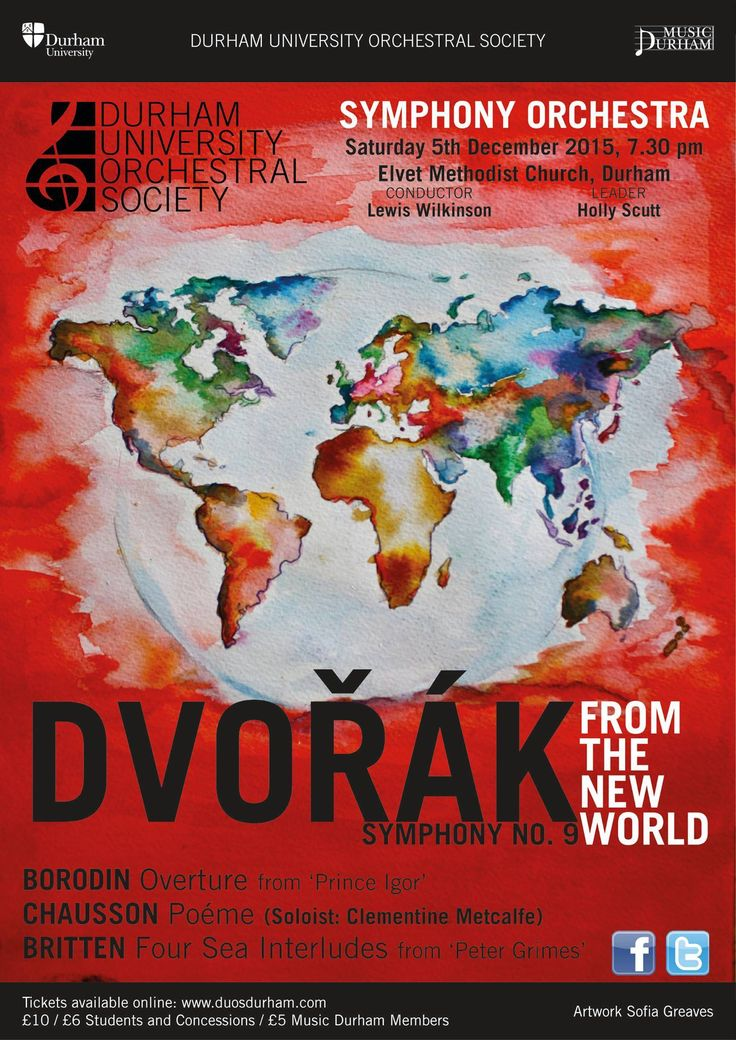 Durham University Orchestral Society Concert Dec 2015