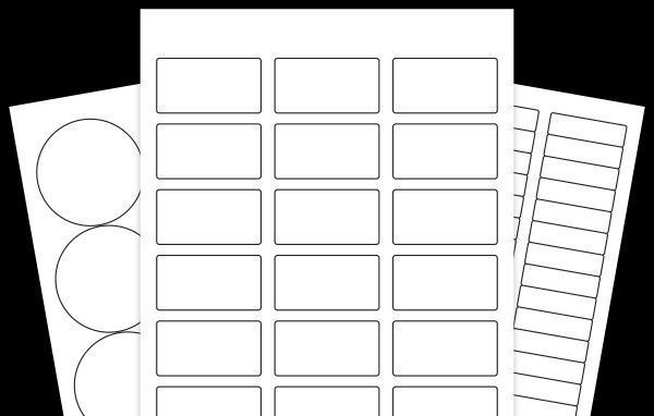 30 Labels Per Sheet Template Free Label Templates Printable Label Templates Templates
