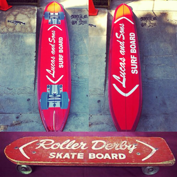 Roller Derby skateboard surfboard