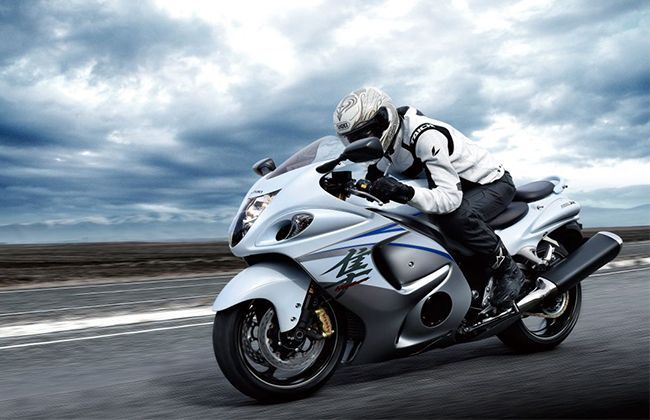 Suzuki Hayabusa price reduced by INR 2.38 lacs