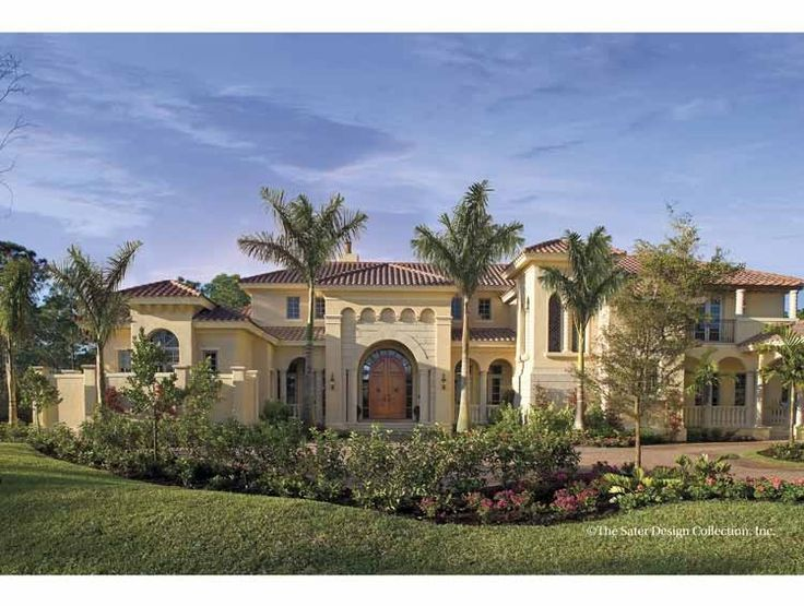 17 best ideas about mediterranean house plans on pinterest for Eplans mansions