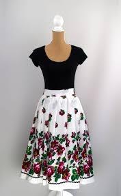 Goralska Sukienka - Polish Highlander Inspired Skirt