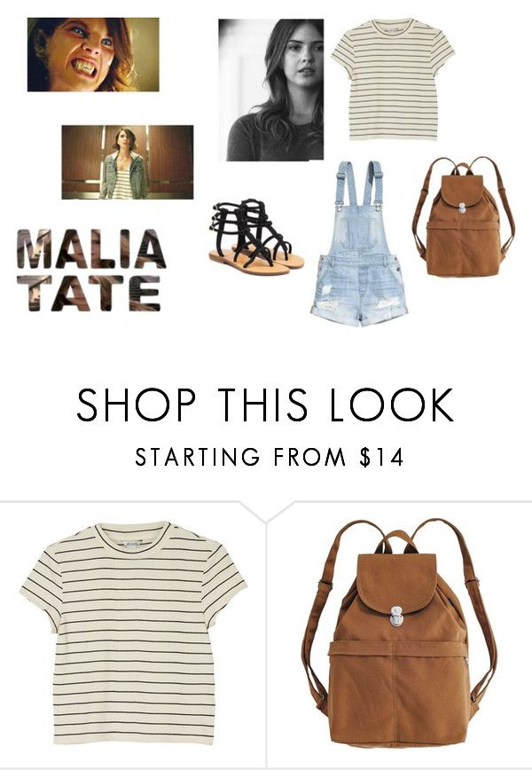 """Malia Tate"" by barbi2003 on Polyvore featuring Monki, H&M, BAGGU and Mystique"