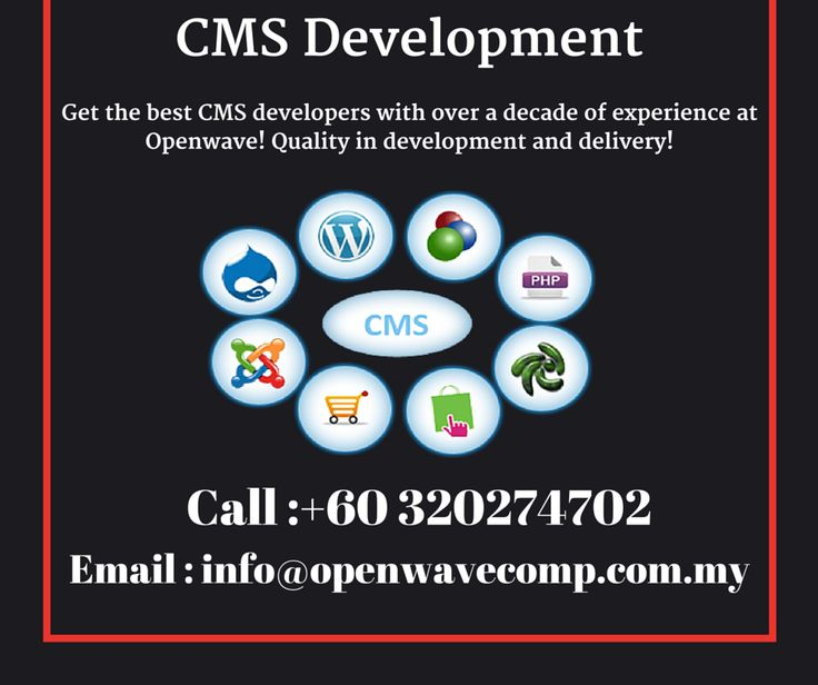 CMS Website Development #Malaysia - http://www.openwavecomp.com.my/content_management_system.html