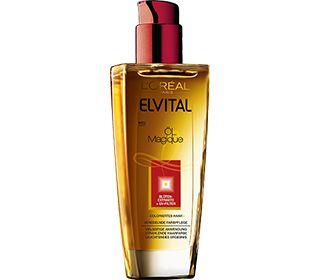 Elvital Öl Magique für coloriertes Haar. Das Farbschutz-Elixier versiegelt die Farbe für mehr Farbintensität. Die UVA-/UVB-Filter schützen vor UV-bedingtem Ausbleichen und Farbveränderung. Das Nutri-Konzentrat pflegt das Haar intensiv und glättet die Haaroberfläche für verlängerten Farbglanz. Ergebnis: Die Haarfarbe wäscht sich nicht aus, bleibt geschützt und leuchtend.  #haircare#hairexpertise#lorealparisde