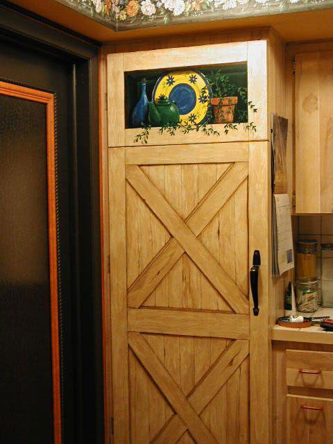 Pantry Doors Ideas | Faux Pantry Door   Broom Closet   Two Tiers?