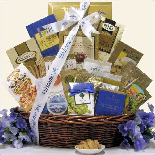 Welcome Aboard: Corporate Gift Basket