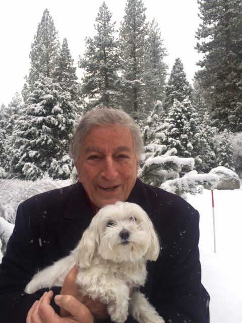 Tony Bennett (@itstonybennett) | Tony Bennett and his dog