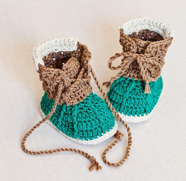 Ravelry: Crew Boots pattern by Mon Petit Violon $4.99